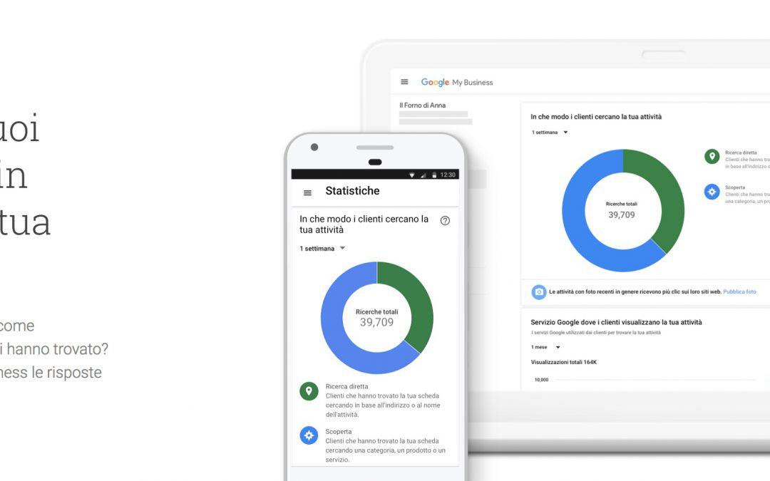 Google my business, cos'è e come utilizzarlo