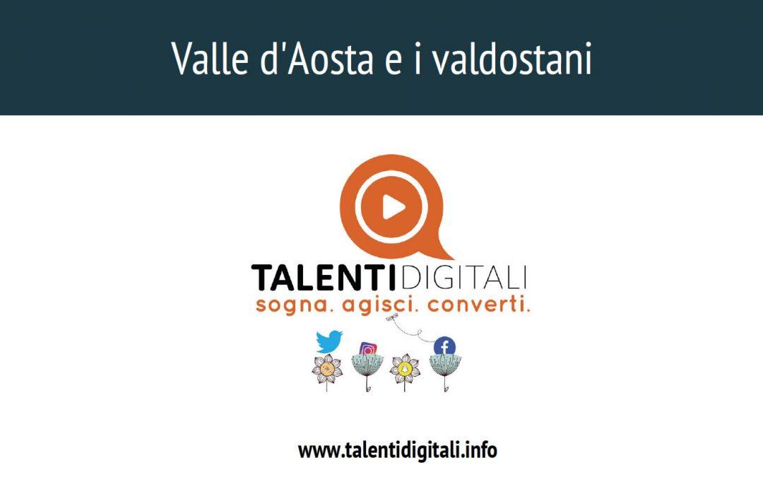 """La Valle d'Aosta e i valdostani"""" – 12 domande per confrontarsi sul tema della percezione."""
